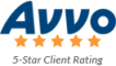 Avvo 5-star client rating